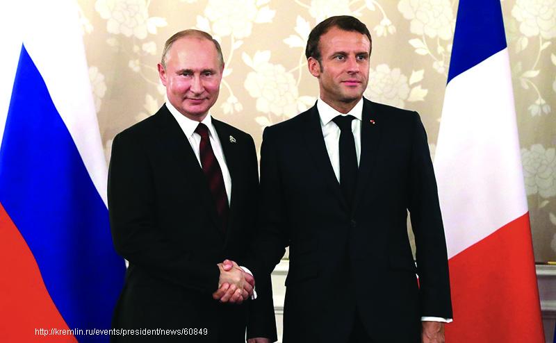 Emmanuel Macron à Moscou en fin d'année ?