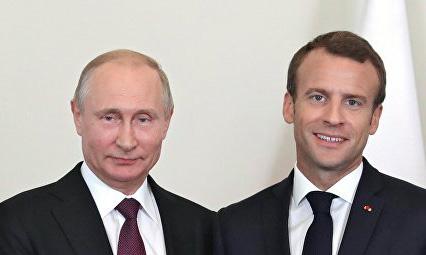 Rencontre Macron-Poutine à Brégançon