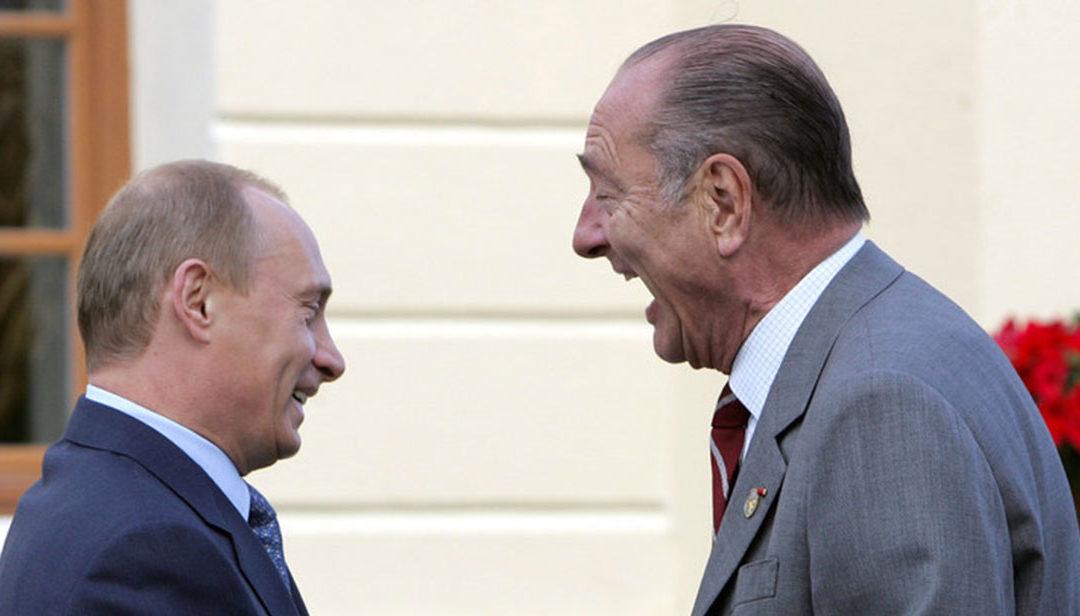 Jacques Chirac : les condoléances de Vladimir Poutine
