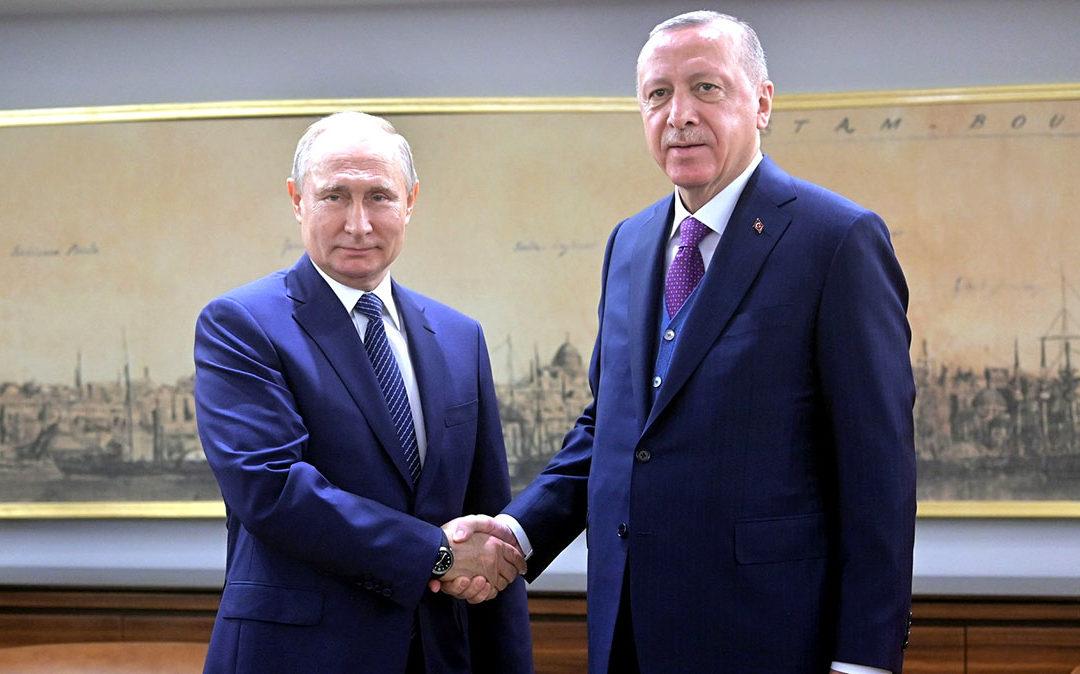 Rencontre Poutine Erdogan