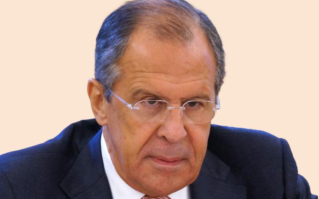 Serguei Lavrov à Paris