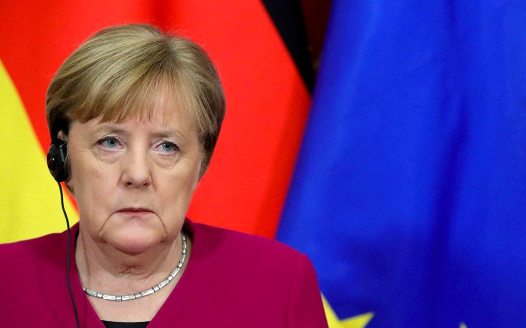 Angela Merkel à Moscou