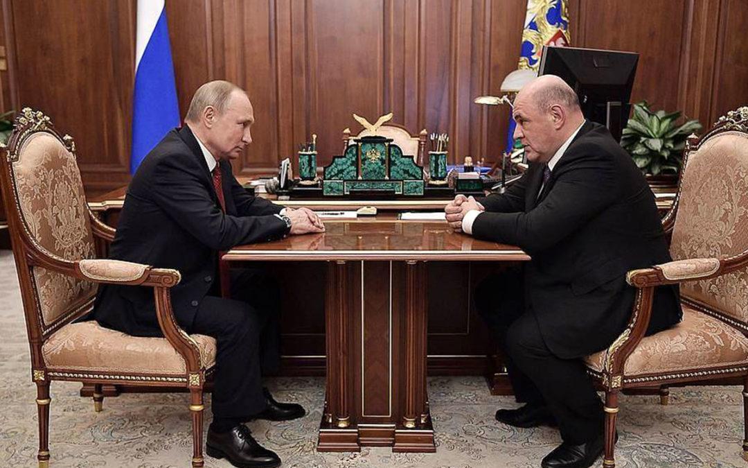 Démission du gouvernement russe