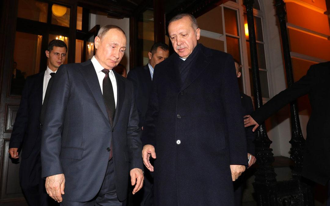 Erdogan à Moscou