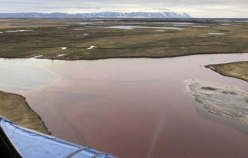 Grosse pollution en Sibérie