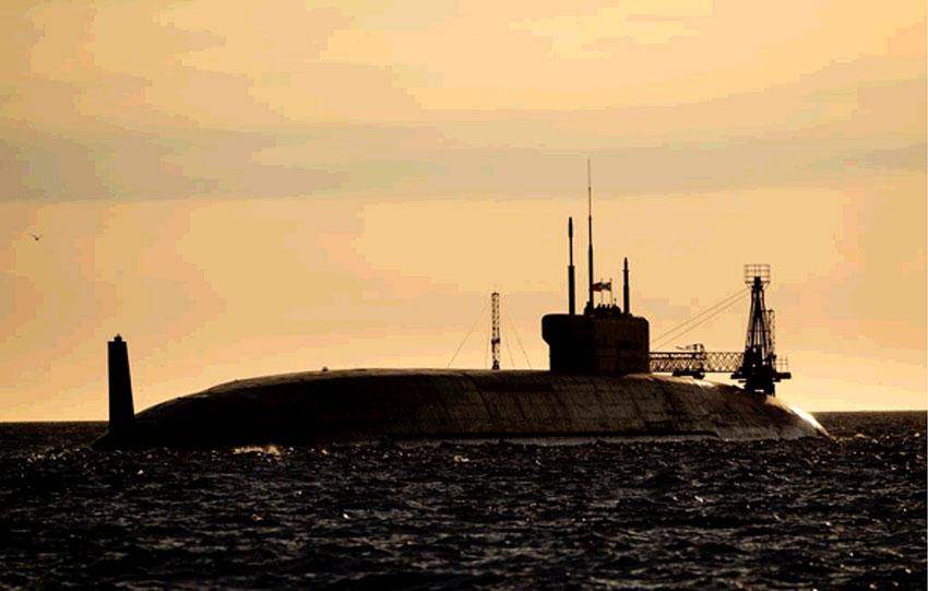 La Russie lance un nouveau sous-marin