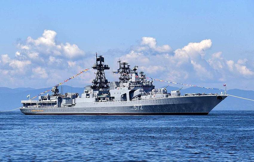 Rencontre américano-russe au large de Vladivostok