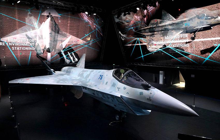 Le nouveau SU-75 «Checkmate»